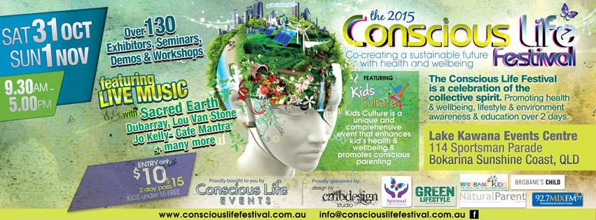 Conscious Life Banner 2015
